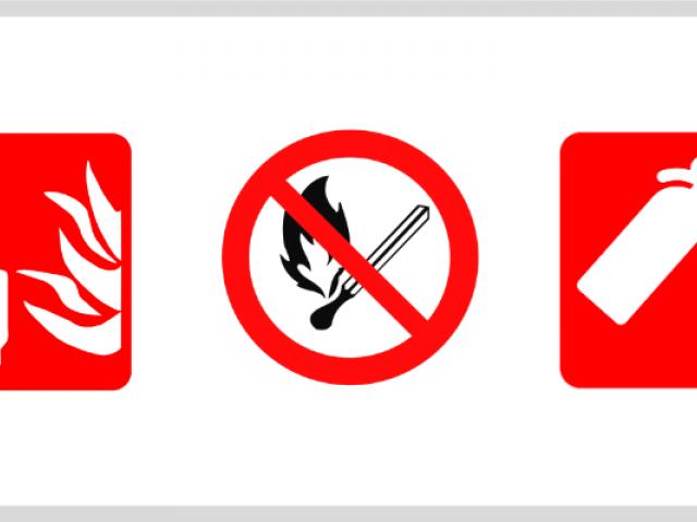 Priešgaisrinės saugos pratybos